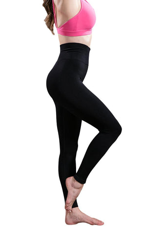 Thick High Waist Elastic Fitness Leggings