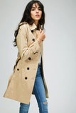 Women's Waterproof Double Breasted Trench Coat - Arista Gems
