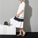 Pleated Loose Dress - Arista Gems
