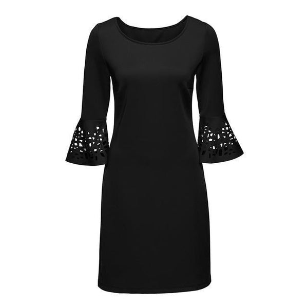 Women Chic Vintage  Mesh Party Dress - Arista Gems