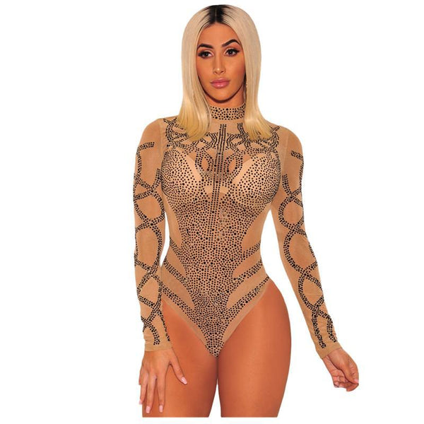 The Shimmer Crystal Bodysuit - Arista Gems