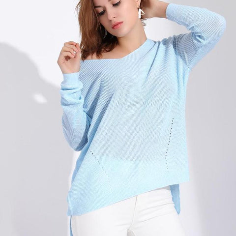 Long sleeve pullover sweater - Arista Gems
