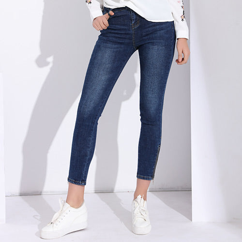 Skinny High Waist Jeans - Arista Gems