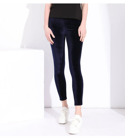 Slim push up Leggings with Side White Stipe - Arista Gems
