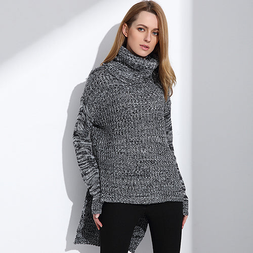 Women's Turtleneck Pullover Sweater - Arista Gems