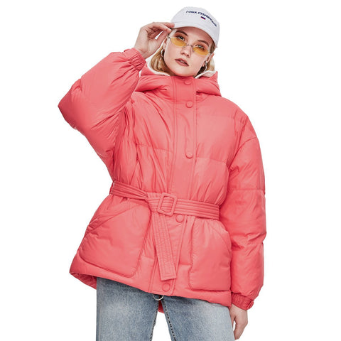JAZZ High Fashion Street Duck Down Jacket