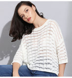 Spring Hollow Out Pullover Sweater - Arista Gems