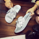 Gold Sliver Bling Summer Outdoor Slippers