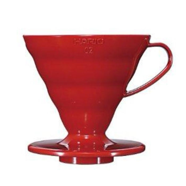V60 Red Ceramic Dripper - West bean