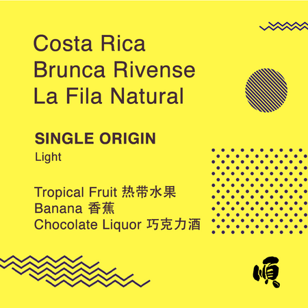 Costa Rica Brunca Rivense La Fila Natural - Soon Specialty Coffee - Malaysia First Direct Fire Coffee Roaster