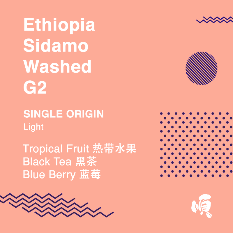 Single Origin: Ethiopia Sidamo Washed G2
