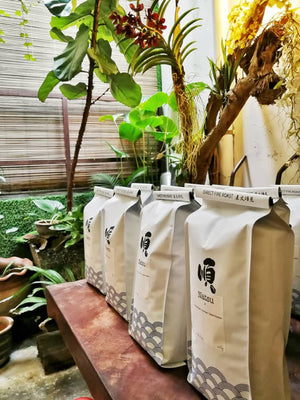 Roasted Coffee Beans:  FUYU BLEND - Soon Specialty Coffee - Malaysia First Direct Fire Coffee Roaster