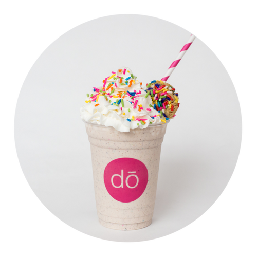 cookie dō milkshake