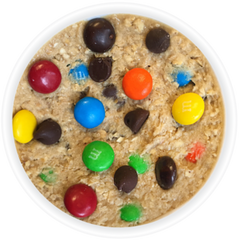 image of oatmeal m&m