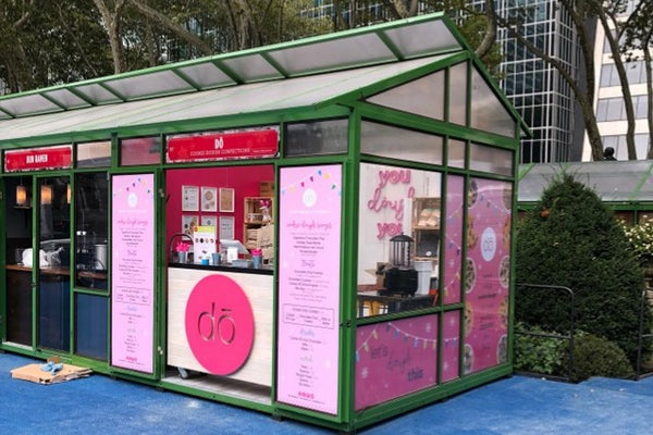 image of booth at bryant park