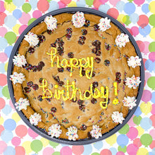 image of happy birthday cookie cake