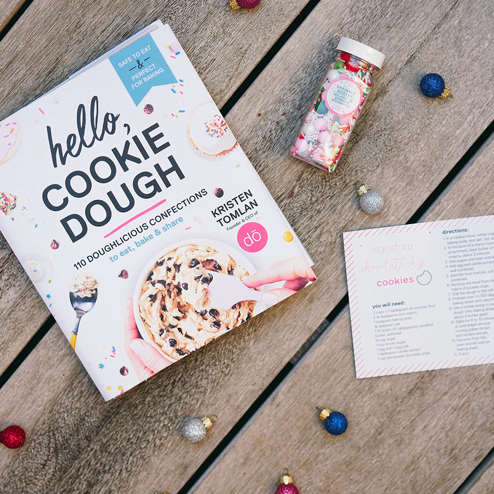 hello, cookie dough holiday bundle