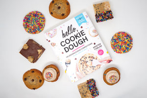 hello, cookie dough cookbook - signed!