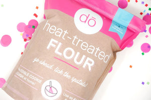 image of heat-treated flour package