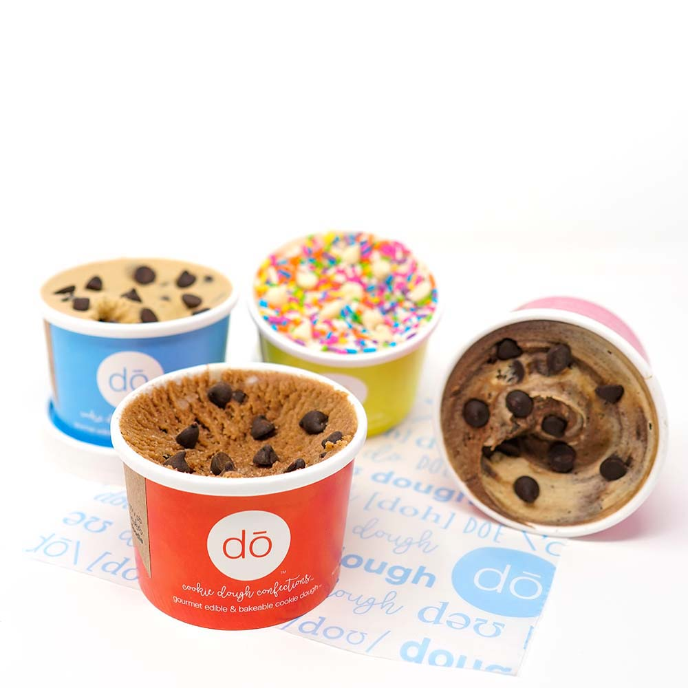 the gluten free edible cookie dough 4 pack