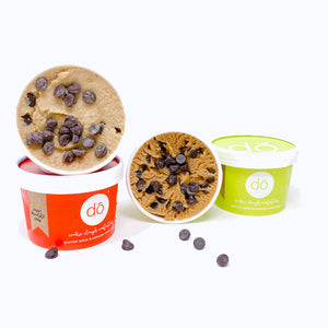 vegan edible cookie dough 4 pack