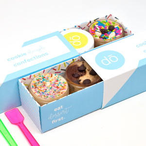 best seller edible cookie dough taster 6 pack