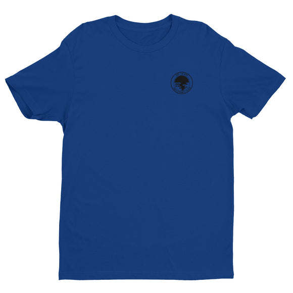 Circle Navy Short Sleeve T-shirt