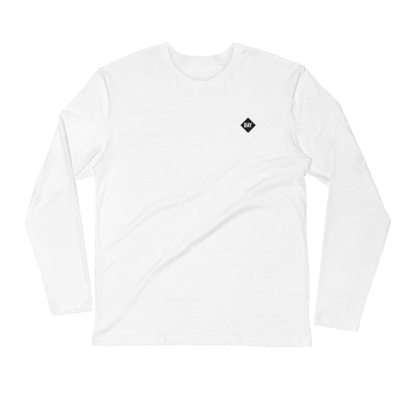 Bay Long Sleeve Fitted Crew