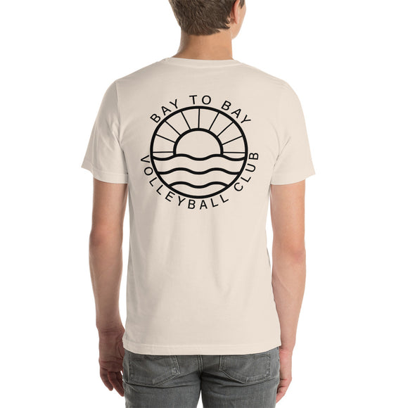 Bone Sunburst Short-Sleeve T-Shirt