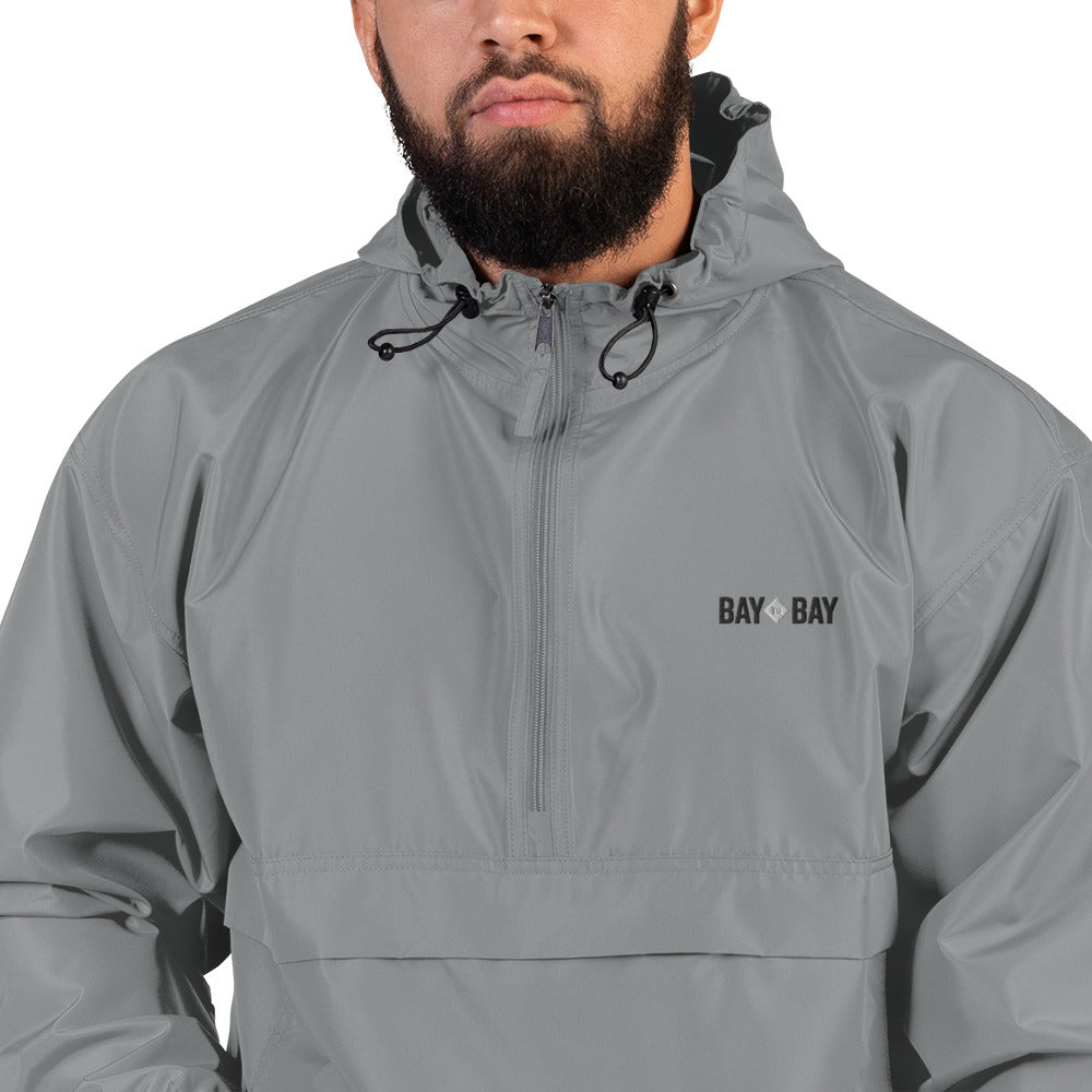 Bay to Bay Graphite Windbreaker