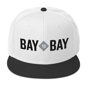 Bay to Bay White Snapback