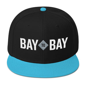 Bay to Bay Black/Blue Snapback
