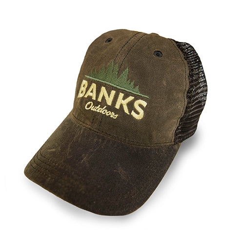 Trucker Hat - Brown/Brown