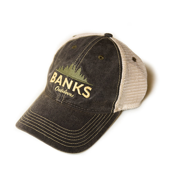 Trucker Hat - Black/Tan