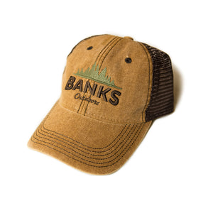 Trucker Hat - Camel/Brown