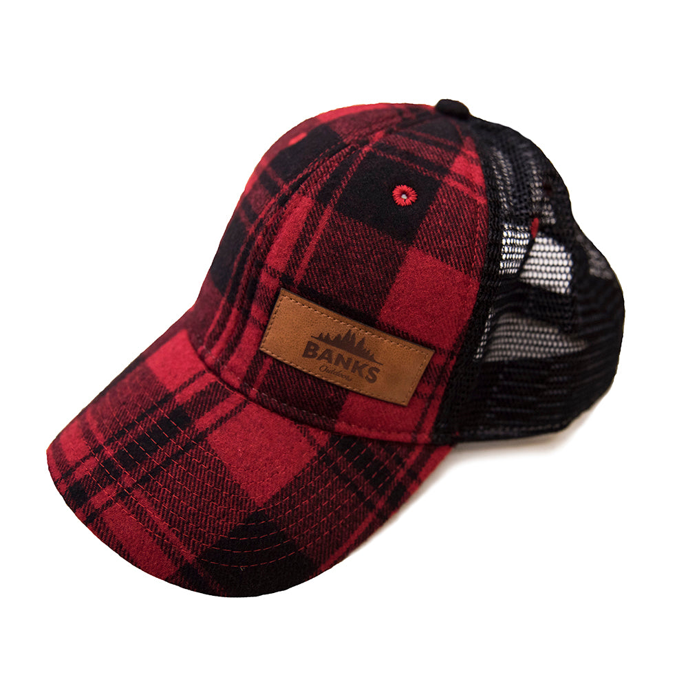Wool Flannel Hat - Buffalo Plaid