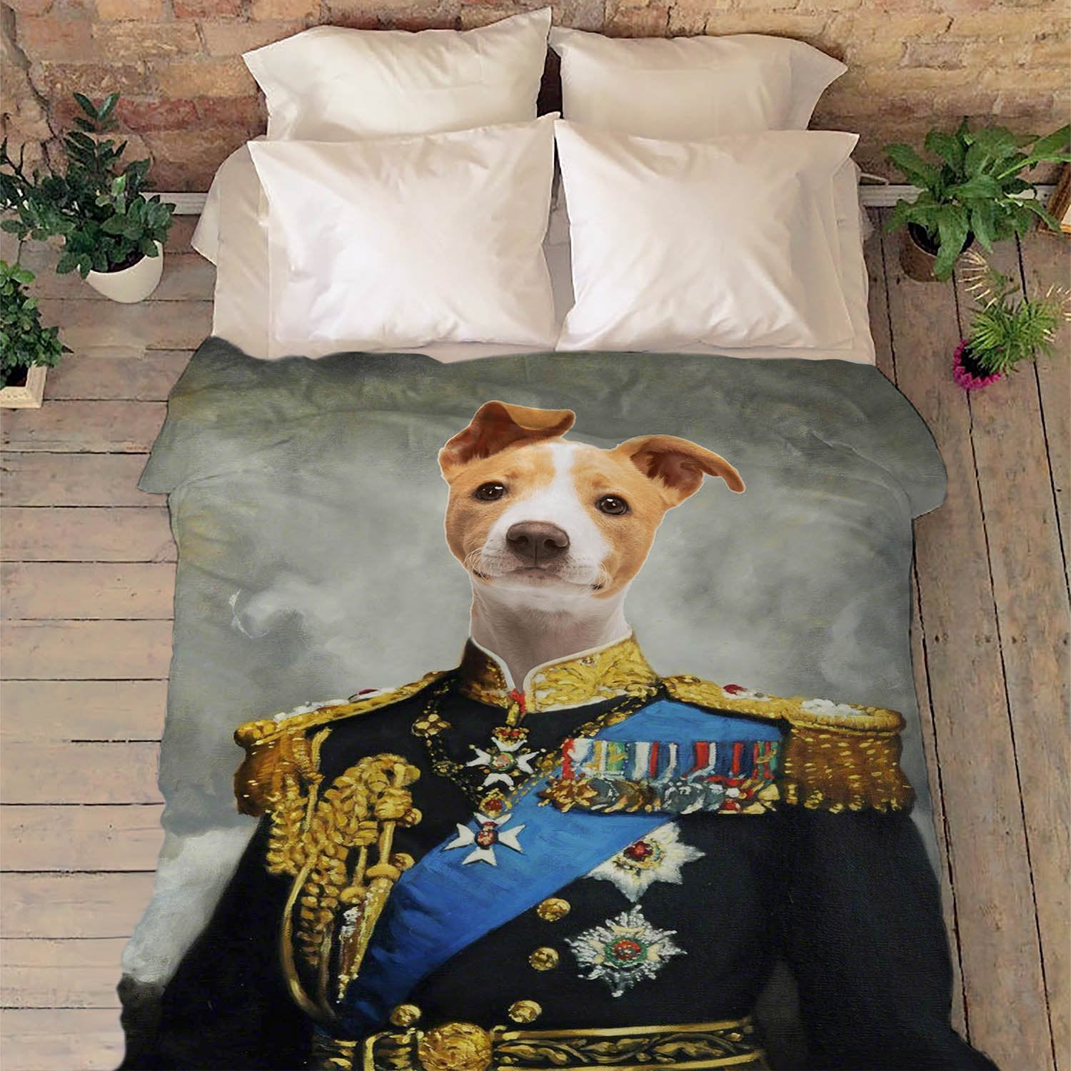 Royal Pet Personalized Blanket