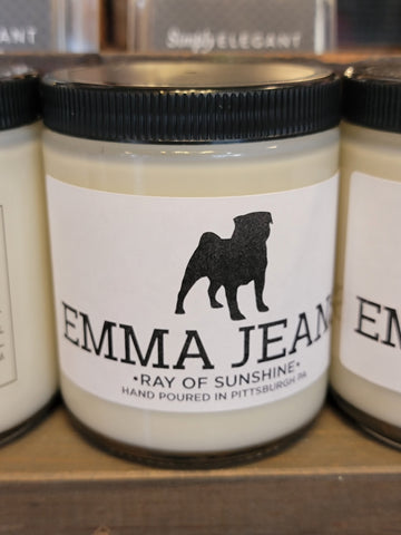 "ISH Emma Jeans ""Ray of Sunshine"" Soy Candle"