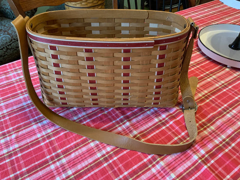 Longaberger 2009 Branch Leader Tote