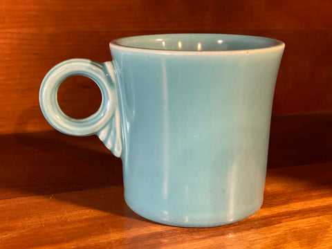 Fiesta - Vintage Turquoise Tom and Jerry Mug 3""