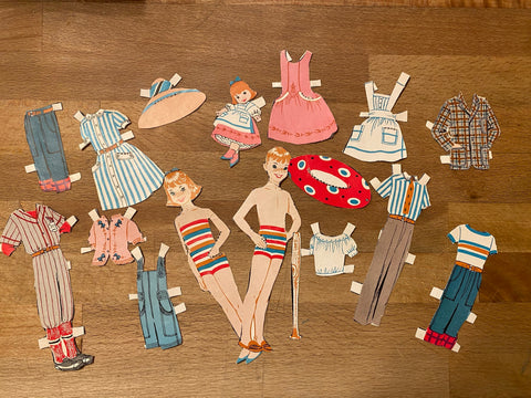 Paper Doll Lot