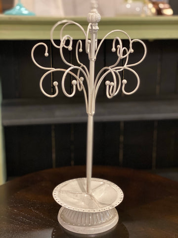 Jewelry Holder White
