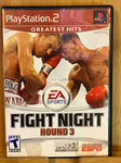 PS2 Fight Night Round 3 Greatest Hits