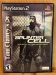 PS2 Tom Clancey's Splinter Cell
