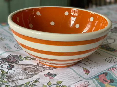 Ceramic Bowl - Small Orange