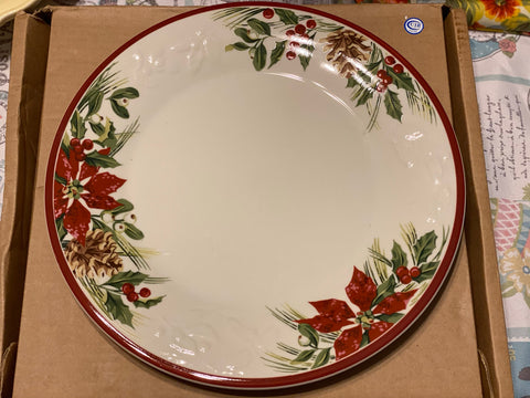 Longaberger Nature's Garland Plate