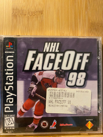 Playstation NHL FaceOff 98