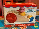 Fisher Price Toys - Click'n Clatter Car