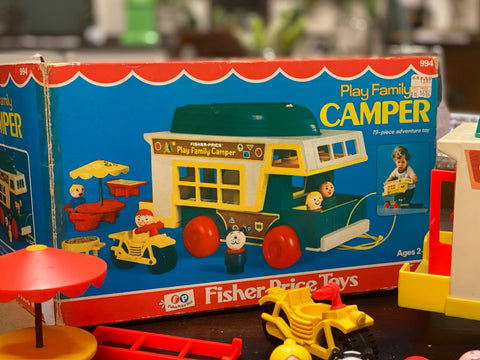 Fisher Price Play Family Camper