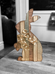 Wooden Bunny Decor - Standing